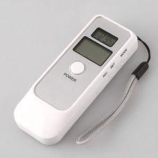 Alkotesteris su LCD ekranu ir laikrodžiu, termometru, žadintuvu