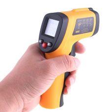 Nuotolinis infraraudonųjų spindulių termometras su lazeriu