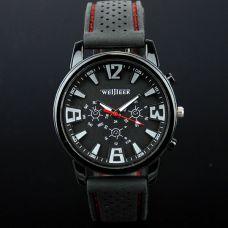 Vyriškas laikrodis su silikono apyranke