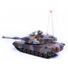 Šratais šaudantis tankas Abrams, valdomas radijo bangomis